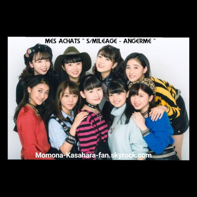 "Mes achats "" S/mileage - ANGERME """