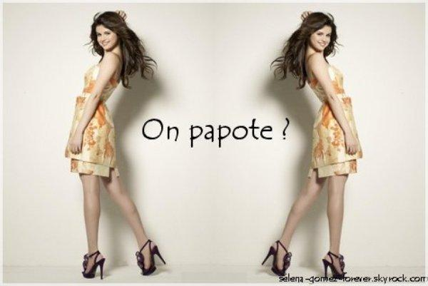 on  papote ? <3
