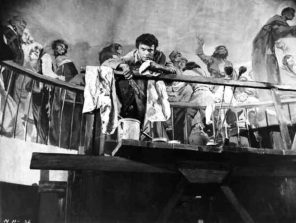 """FILM / """"La Maja nue"""" (titre original : The Naked Maja) est un film franco-italo-américain réalisé par Henry KOSTER, sorti en 1958. / SYNOPSIS / En Espagne, à la fin du XVIIIème siècle, le peintre Francisco De GOYA (Anthony FRANCIOSA) fait la connaissance de la duchesse d'ALBE (Ava GARDNER). Elle devient son mécène, son modèle et sa maîtresse..."""
