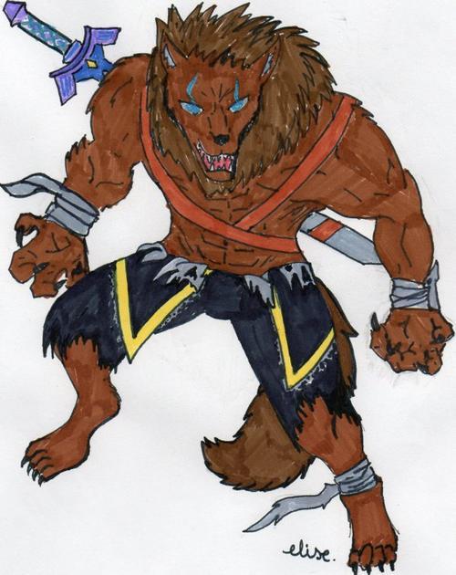 kayau version loup-garou