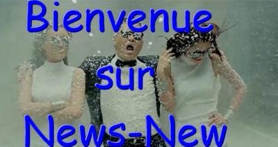 Bienvenue sur News-new
