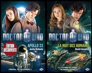 Les livres de Doctor Who