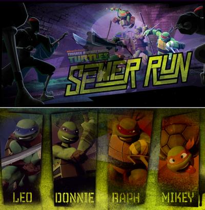 Teenage Mutant Ninja Turtles Sewer Run