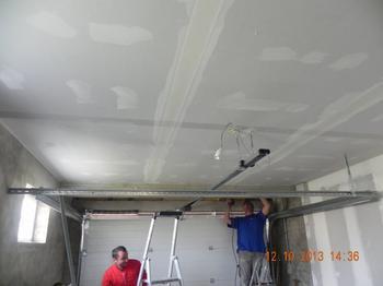Plafond du garage