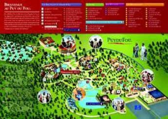 Puy du Fou : Le Plan du Site