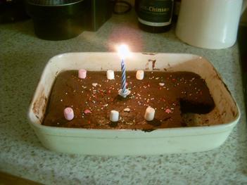 1ère recette: Le Gâteau au Chocolat