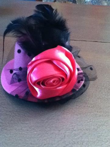 ma coiffe lolita (petit chapeau)