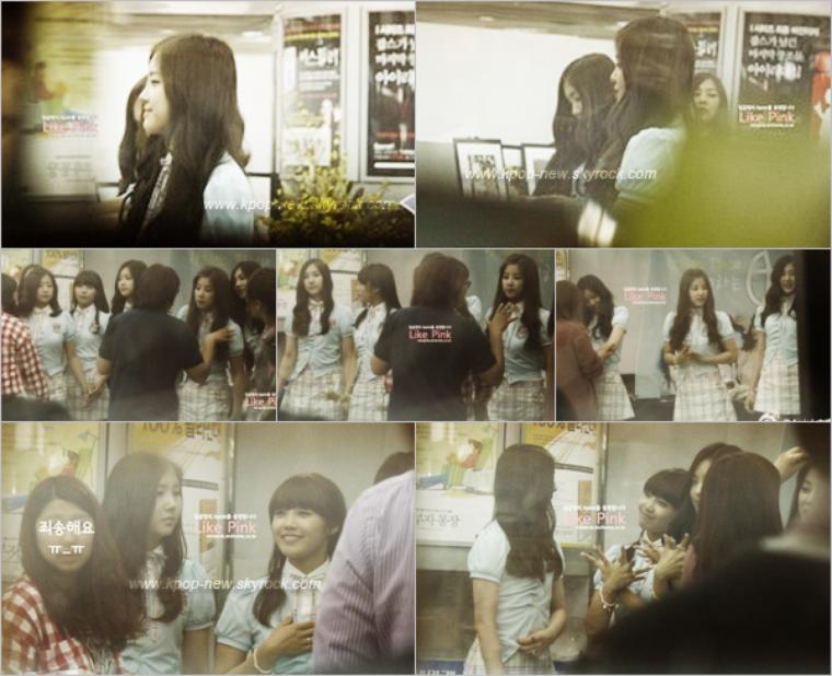 A-Pink - les 17.18.19 JuinOrdre : Des photos de leur dernière journée pour APINKNEWS | Les filles lors du fansigning à Mokdong | EunJi sur SikSin Road ♥