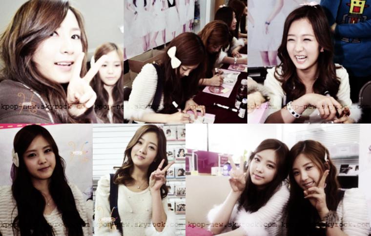 A-Pink .PHOTOSDEC . 17 - fansigning // Les 7 demoiselles rendent visite à leur fans lors de deux séances dédicaces à Daegu et Busan.