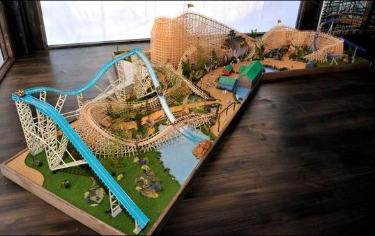 wooden coaster a europa park en 2012