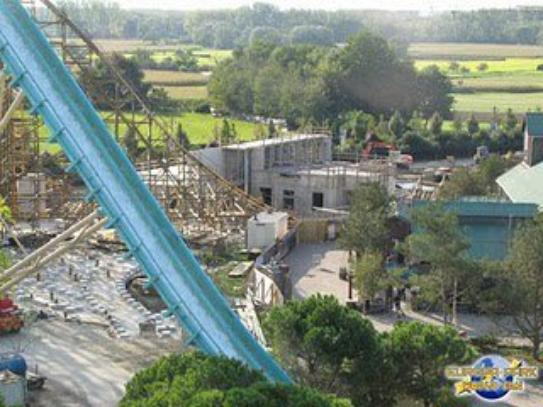 suite travaux wooden coaster europa park