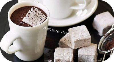 TUTO : Recette chocolat chaud aux Marshmallows