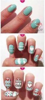 5 nail art pour l'hiver