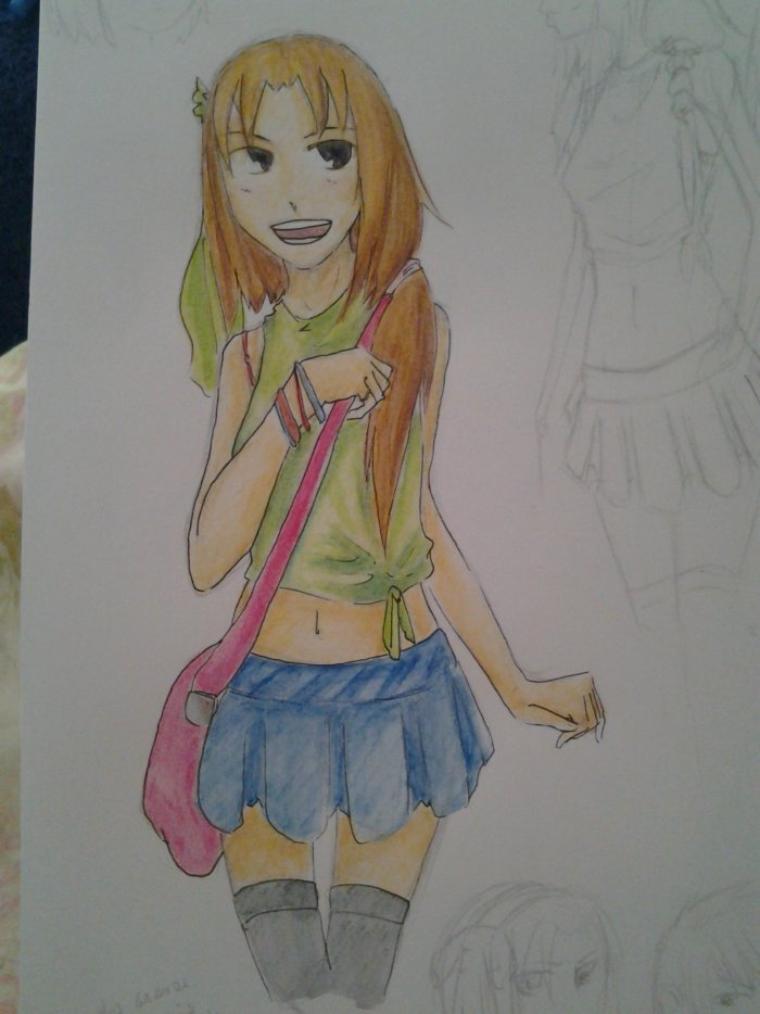 Karen (mais pourquoi je continue à la dessiner ? =w=)