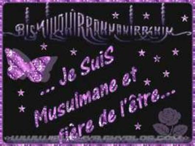 alhadoulilah que dieu m est donnée la chance d étre musulmane