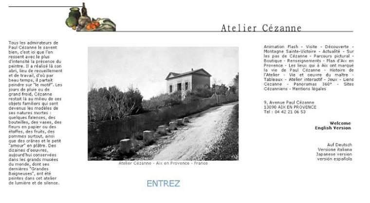 A la découverte du web - L'atelier Cézanne :