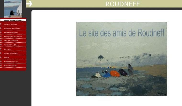 A la découverte du web - L'artiste peintre Roudneff :