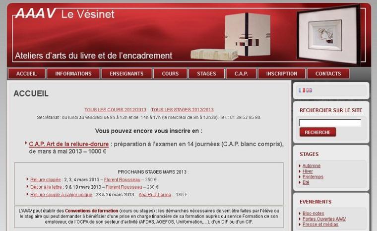 A la découverte du web - L'atelier des arts appliqués du Vénizet :