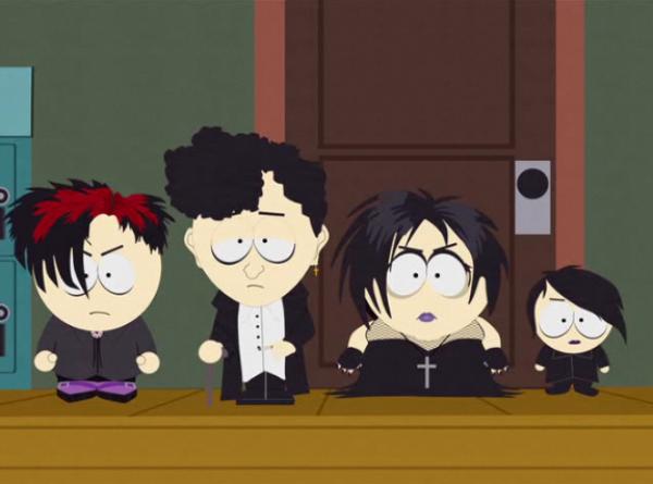 South Park - Les Gothiques