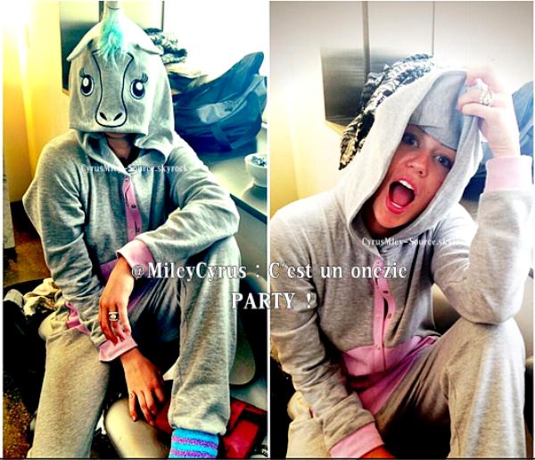 Miley a partagé avec nous sur facebook elle danse le 'Twerk' regardez cette vidéo, c'est une vidéo amusante et elle donne réellement envie de danser!