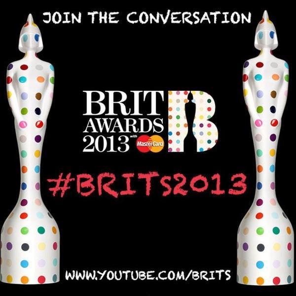 Gagnant des Brit Awards 2013.