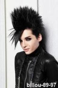 Evolution du look de Bill Kaulitz