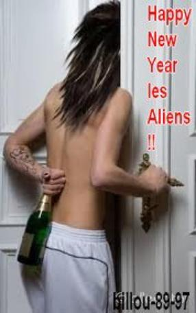 Happy New Year les Aliens !!