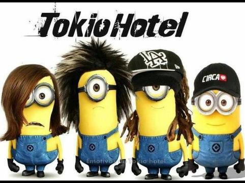 Tokio Hotel version minion