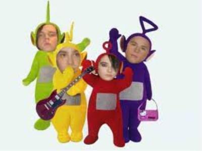 Tokio Hotel version Télétubies x')