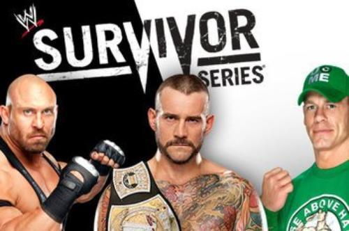 Carte actuelle des Survivor Series 2012 !