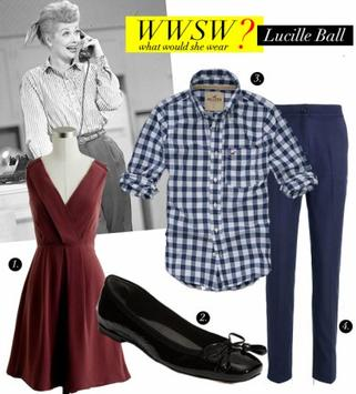 Style Lucille Ball