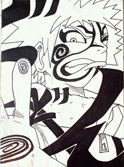 Dessin de Naruto by moi !