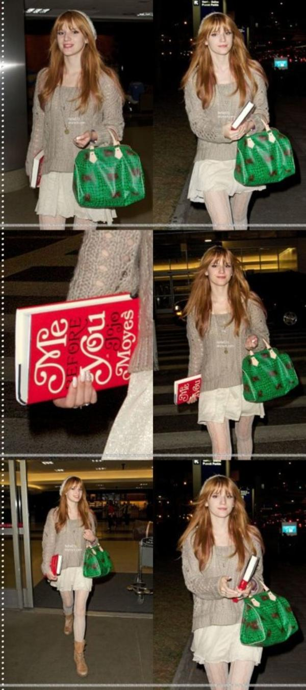 20/01/13 : Bella Thorne à l'aéroport international de L.A
