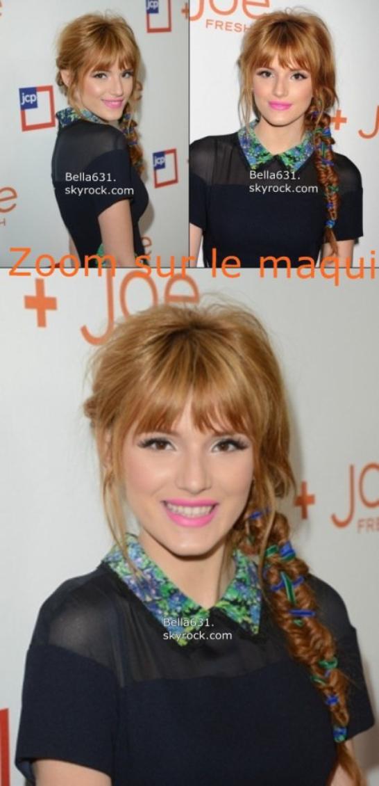 """08/03/13 : Bella s'est rendue à """" JCPenney Joe Fresh Launch Party"""