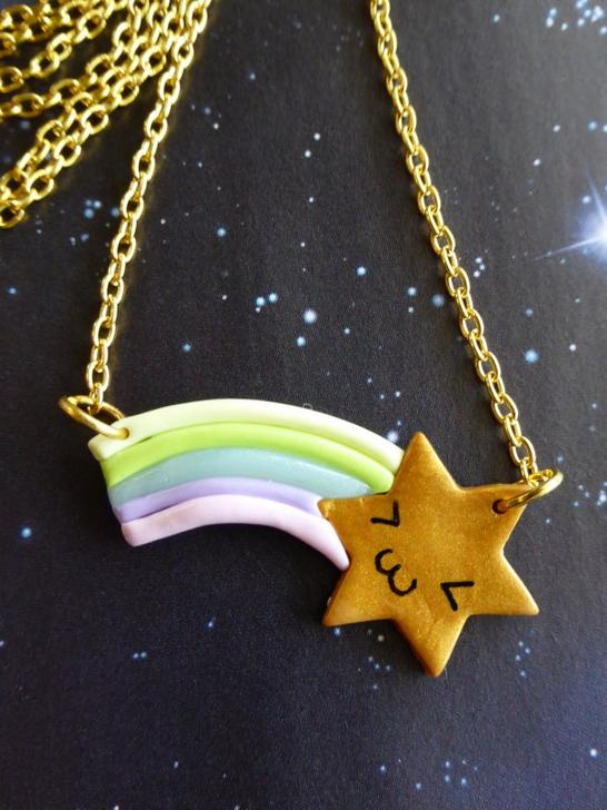 Collier shooting star