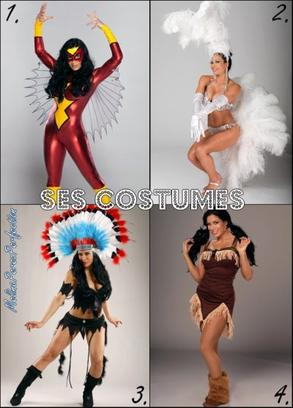 Ses costumes