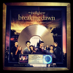 La BO de Breaking Dawn certifiée Disque d'or !