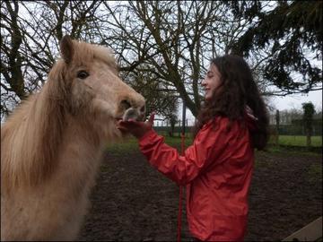 Si un jour nous tombons je vous en prie relever d'abord mon cheval ♥