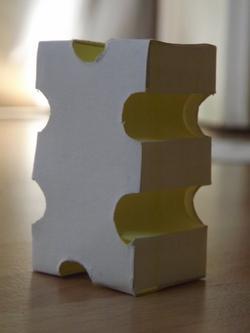 Tuto: Cubes jaunes