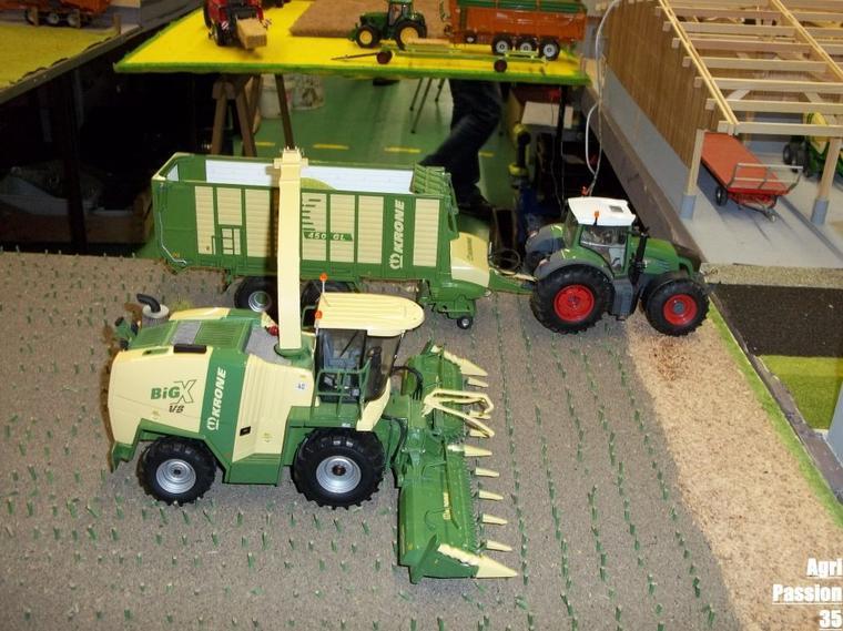 Exposition De Miniatures Agricoles & Tp : Tinchebray 4 Décembre 2011