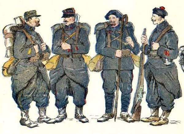 UNIFORMES ET MATERIELS 1914