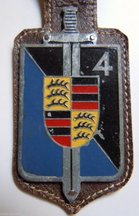 Pucelle de la 4è Légion Gendarmerie Occupation, 1er Modèle.