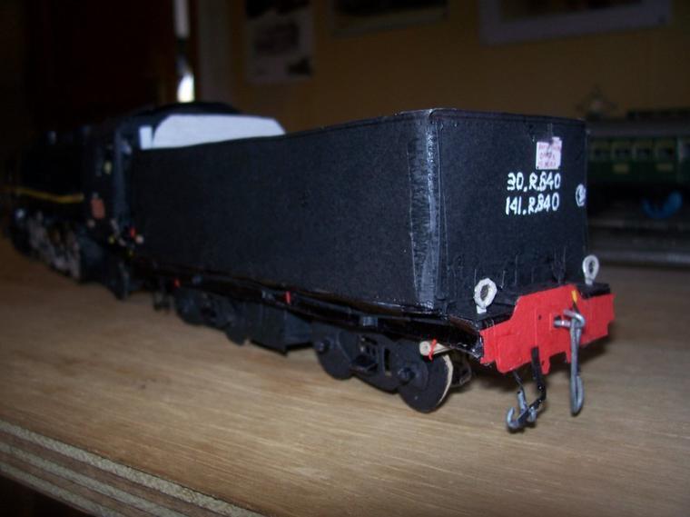 Le Tender de la 141R840.