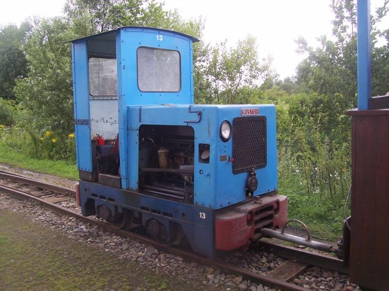 Le Train Touristique de la Vallée de la Scarpe à St-Amand.