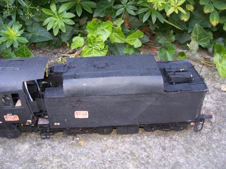 Le Tender de la 141R840 (Terminé).