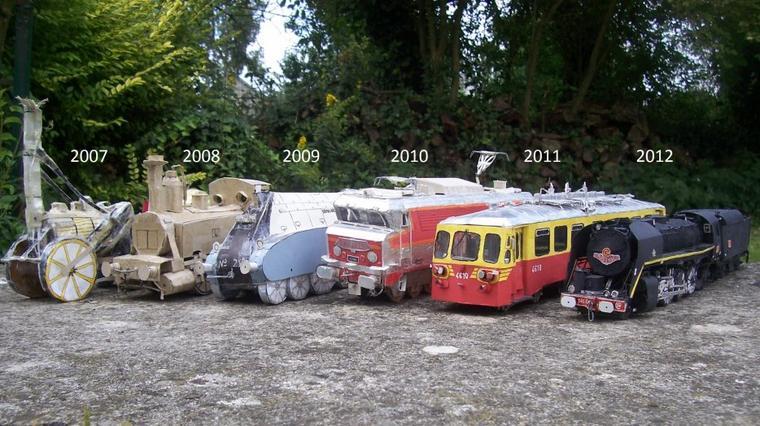 De 2007 à 2012.