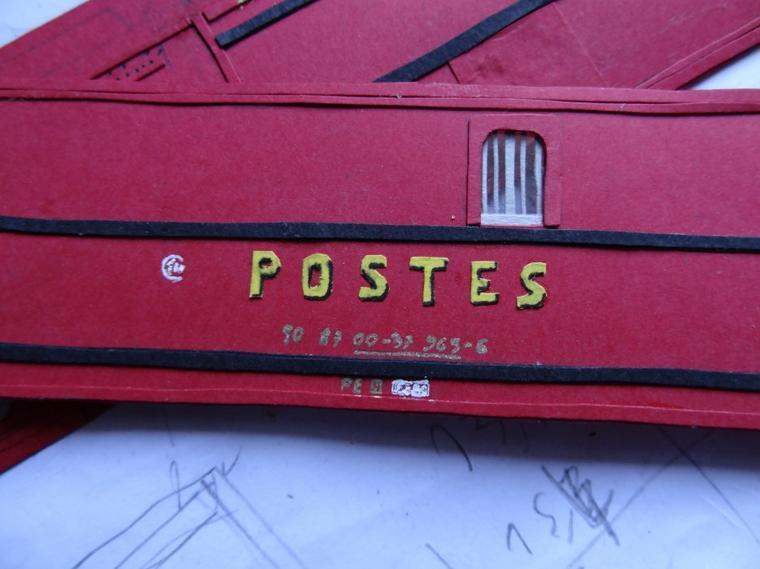 Rame de la 141R : Allège postale (1) :