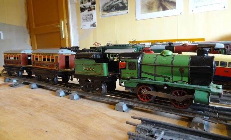 Voitures Pullman anglaises Hornby