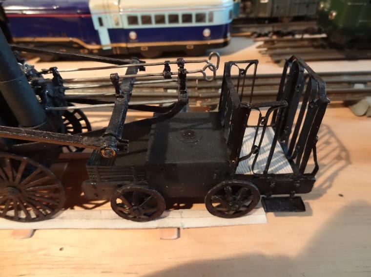Locomotive de Coalbrookdale, Richard Trevithick (Terminée)
