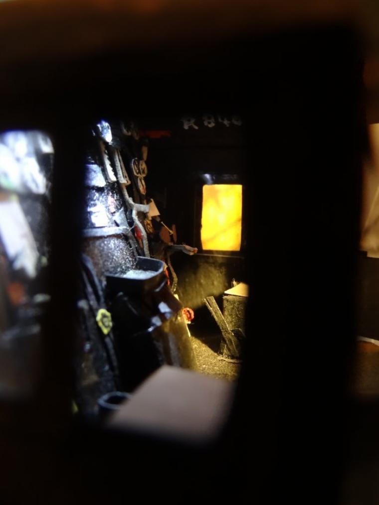 La 141R840 : Vues intérieures